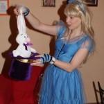 Алиса в стране чудес на детский праздник