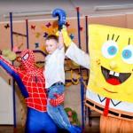 человек паук на праздник, заказать человека паука, пригласить человека паука, заказать спайдермена