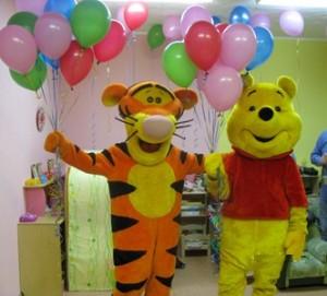 Винни и Тигра поздравление
